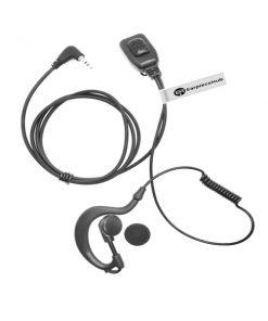 G shape motorola talkabout earpiece