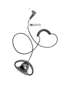 Listen only D shape Motorola 2 Pin 3.5mm