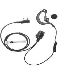G Shape Baofeng 2 Pin Radio Earpiece