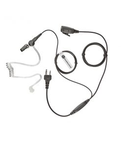 Covert Acoustic Tube Cobra 2 Pin Radio Earpiece
