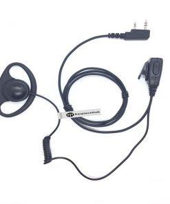 D Shape Hytera 2 Pin Earpiece (HK Style)