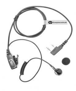 Hytera MP style earpiece