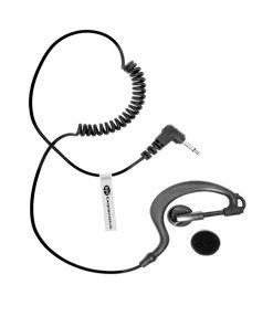 G Shape listen only Motorola TLKR 1 Pin Radio Earpiece
