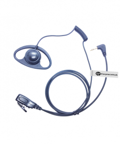 D Shape Hytera 1 Pin Radio Earpiece