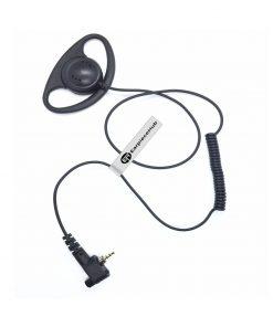D shape MTH800 Listen only earpiece